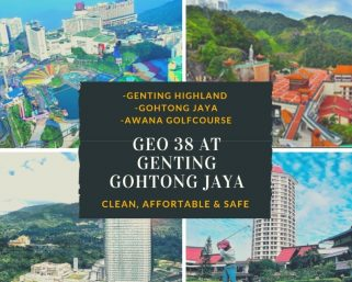 room for rent, single room, genting highlands, Super Single Bedroom With Perfect Balcony View at GEO 38 !!!