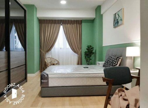 room for rent, master room, persiaran singgahsana, Master room for Rent at Radia Residence Bukit Jelutong, Shah Alam, Selangor