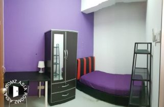 room for rent, single room, jalan teknologi, Single Room for Rent at Kota Damansara Segi College