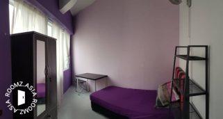 room for rent, single room, jalan teknologi, Twin Big Room for Rent at Kota Damansara Segi College