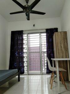 room for rent, single room, bukit jalil, Single Room for Rent at Bukit Jalil with Free Parking