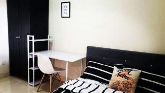 room for rent, medium room, kota damansara, Casa Indah Middle Room for Rent FF near MRT Surian station, Tropicana Gardens Mall, Sunway Giza