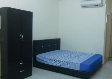 room for rent, medium room, sri petaling, Non-Smoking Unit for rent at SRI PETALING