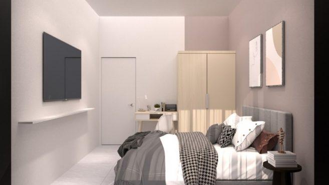 room for rent, master room, butterworth, Meritus Residensi, Master Room, Fully Furnished