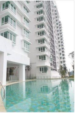 room for rent, apartment, wangsa maju, Saville @ Melawati Condo wth 8 feet Wardrobe & FREE 3 months Maxis Fibre Internet