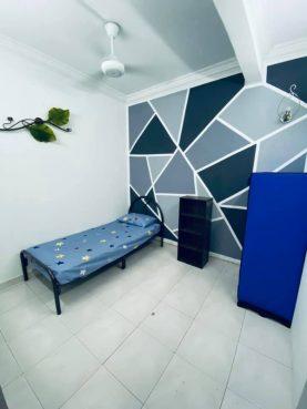 room for rent, medium room, bukit rahman putra, Short Term Room for Rent at Sg Buloh