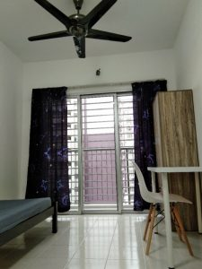 room for rent, common area, danau kota, BALCONY ROOM WITH GREAT VIEW