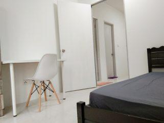 room for rent, common area, danau kota, Balcony Room For rent in Danau Kota Setapak