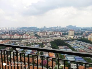 room for rent, medium room, kepong, BALCONY ROOM @ THE HENGE KEPONG WITH CASHBACK!!