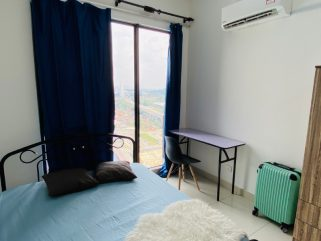 room for rent, master room, cheras, Master Room for Rent @ Cheras with Private Bathroom & Carpark