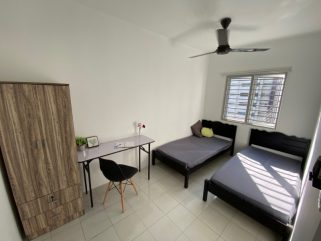 room for rent, medium room, bukit jalil, Twin or Middle Room for Rent @ Bukit Jalil (Jalilmas)