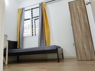 room for rent, single room, setapak, Fully Furnished Single Room at Danau Kota Setapak