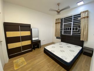 room for rent, master room, sentul, FREE Utilities Fully Furnished Room at Sentul