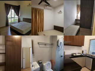 room for rent, master room, bandar tasik selatan tbs link bridge, Fully Furnished Rooms @ Anyaman Residence! 5 min to TBS Station