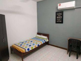 room for rent, medium room, bandar kinrara 5, (FREE UTILITY ROOM RENT) BANDAR KINRARA 5, PUCHONG