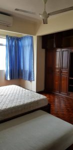 room for rent, master room, bukit pantai, Master room with nice city view