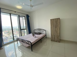 room for rent, master room, cheras, F.Furnished Nearby MRT Room For Rent CHERAS, Taman Connaught