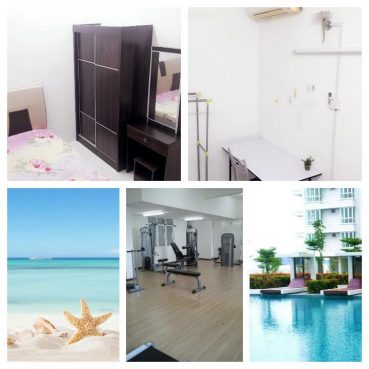 room for rent, single room, penang, Fully Furnished Private single room Summer Place Georgetown Penang