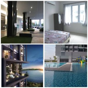 room for rent, medium room, puchong, Middle Room for Women at Aurora Residences Puchong