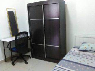 room for rent, medium room, puchong, Room With Aircond at Residences Taman Mas Puchong