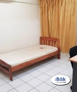 room for rent, medium room, ss18, Room Rent with Fully Furnished at SS18, Subang Jaya