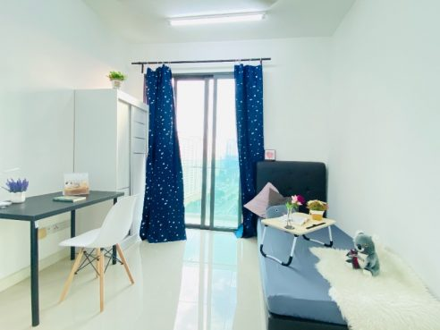 room for rent, medium room, wangsa maju, Clean Balcony Room For Rent at Wangsa Maju/Setapak