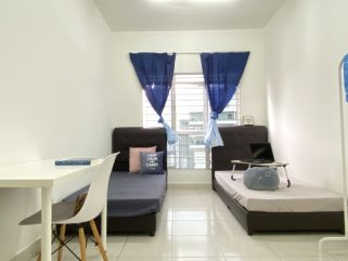 room for rent, single room, sentul, CLEAN Balcony Fully Furnished Room For Rent at Sentul
