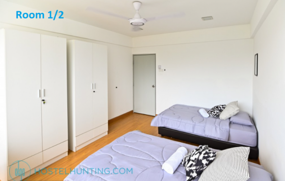 room for rent, single room, brickfields, Mansion room at Brickfields near to monorial station