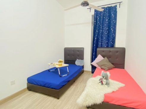 room for rent, medium room, setapak, FREE UTILITES FULLY FURNISHED ROOM FOR RENT [Setapak/Wangsa Maju]