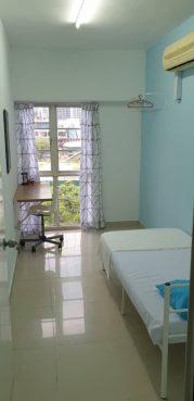 room for rent, single room, bukit bintang, Bukit Bintang Secured Female Condo - Small Room 2