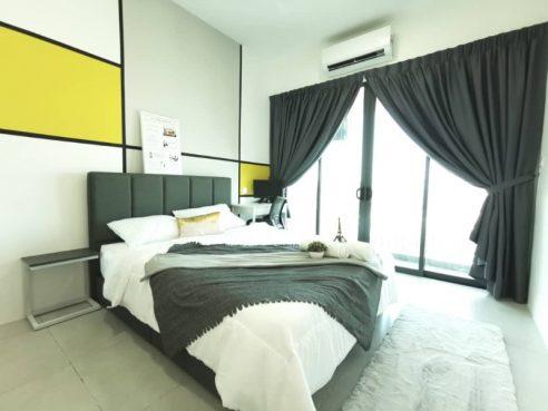 room for rent, medium room, 13600 seberang perai, Brand New Balcony Room @ Meritus Jln Baru Prai Penang