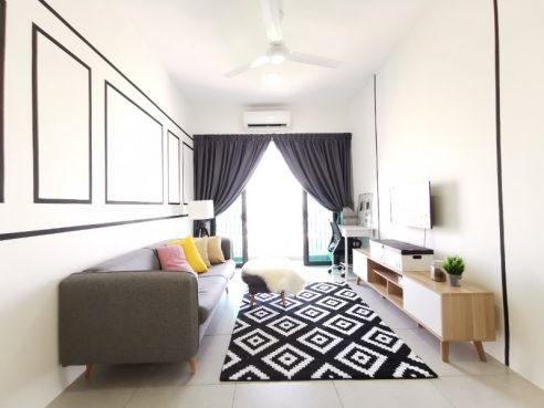 room for rent, apartment, 13600 seberang perai, 🔥🔥 Brand New European Inspired Suite With One Bedroom @ Meritus Jalan Baru Seberang Perai Prai,Penang