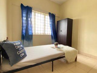 room for rent, apartment, subang bestari, 1 bulan Deposit Rumah Sewa Free Parking ada Air-Cons (Free WiFi)