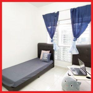 room for rent, medium room, sentul, Fully Furnished Room for Rent at Sentul