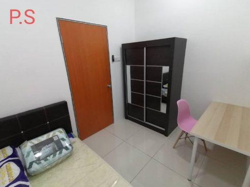 room for rent, single room, taman connaught, BRAND NEW Single Room with Easy public transport access @ Taman Connaught