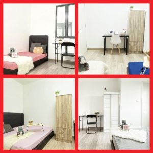 room for rent, medium room, setapak, Fully Furnished Rooms Available in Setapak, Wangsa Maju