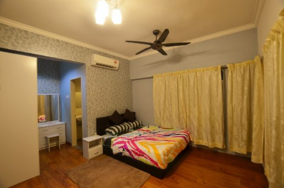 room for rent, master room, sri petaling, Master Room (Female Unit) @ Fully Furnish