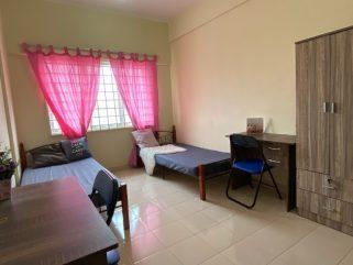 room for rent, single room, subang bestari, 0% Deposit Bilik Balcony Sewa Air Con Free Wifi Free Utilities