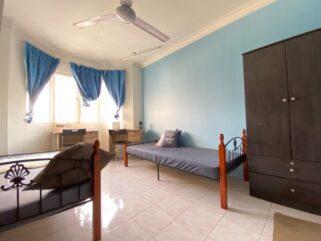 room for rent, medium room, subang bestari, 0% Deposit Bilik Sewa Murah all Muslim Female Subang Bestari