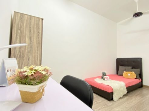 room for rent, single room, wangsa maju, Fully Female Furnished Room in Wangsa Maju Setapak
