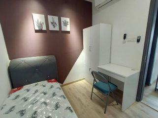 room for rent, single room, kota damansara, Private Single Room with Brand New Furniture