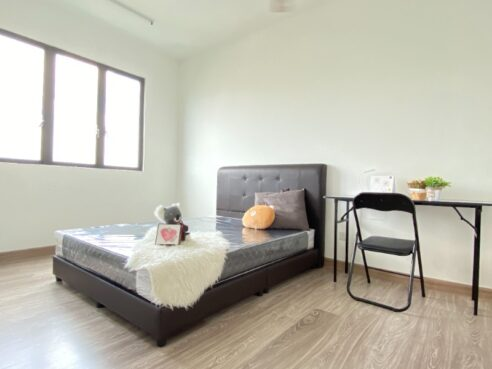 room for rent, master room, setapak, Fully Female Furnished Room in Wangsa Maju Setapak