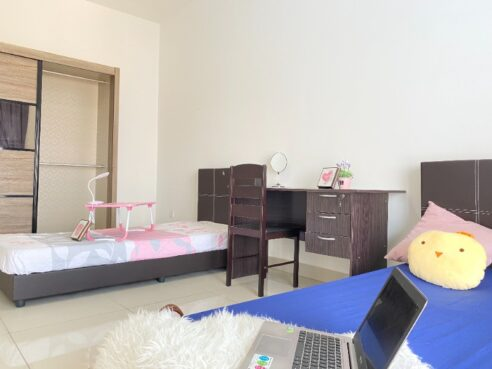 room for rent, master room, cheras, 1+1 Deposit Fully Furnished Room in Cheras