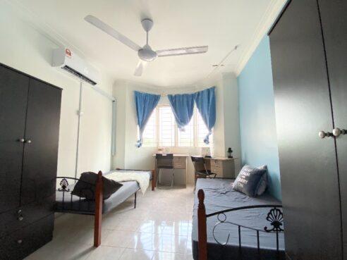 room for rent, medium room, subang bestari, 0% Deposit Bilik Sewa Murah Fully Furnished All Muslim dekat Kwasa Sentral MRT
