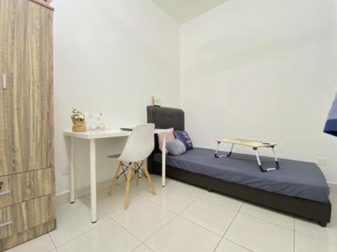room for rent, single room, cheras, FEMALE UNIT Zero Deposit Nearby MRT in Cheras