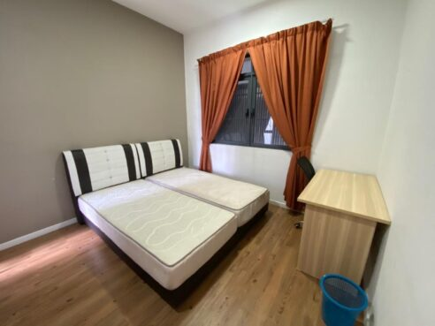 room for rent, medium room, shah alam, Cosy Furnished Middle Room In Glenmerie - Near Sunway, Taylor and Petaling Jaya!
