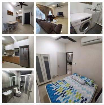 room for rent, single room, shah alam, Fully furnished private single room @ V Residensi 2, Shah Alam
