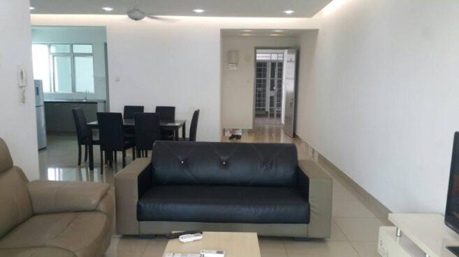 room for rent, full unit, bukit jalil, 3 bedroom 2 bathroom condominium for rent at Kiara 2