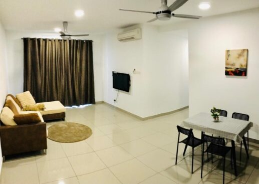 room for rent, full unit, bukit jalil, 3 bedroom 2 bathroom condominium for rent at Parkhill Residence