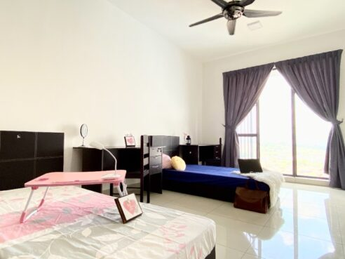 room for rent, master room, cheras, 1+1 Deposit Fully Furnished Master Bedroom in Cheras
